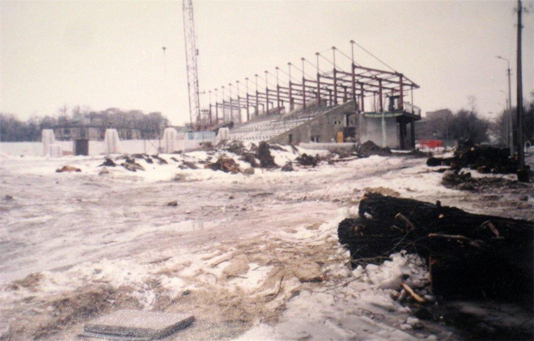 В социальной сети показали, как строили запорожскую «Славутич-Арену», – ФОТО, фото-2