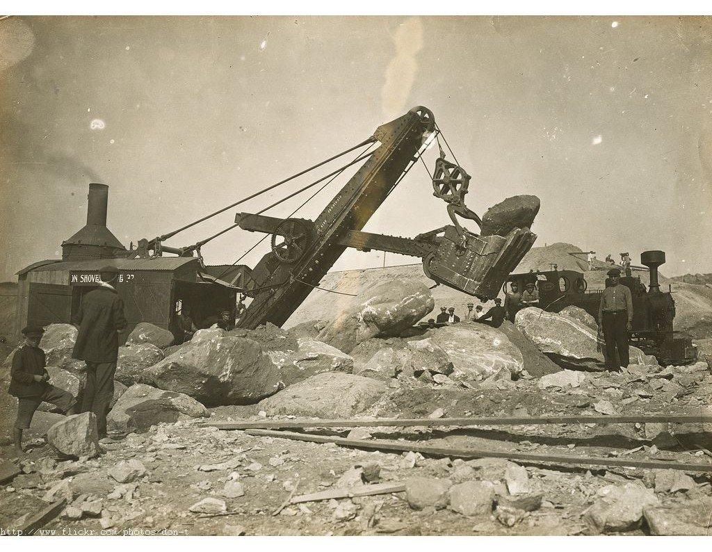 В соцсети показали, как строили запорожский Днепрогэс, – ФОТО, фото-5