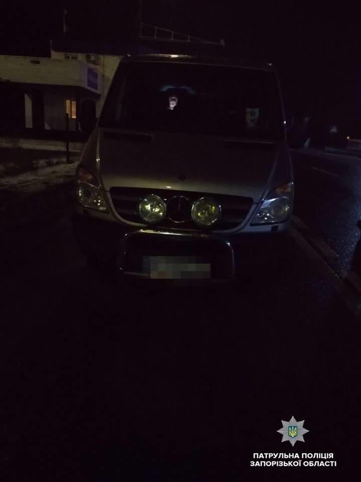 Под Запорожьем задержали водителя Mercedes Sprinter под амфетамином, – ФОТО, фото-2