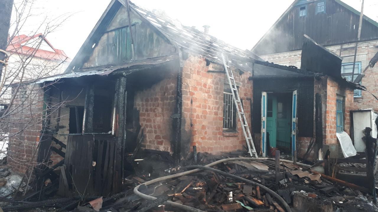 В Запорожье за день случилось два пожара в частных домах, фото-1