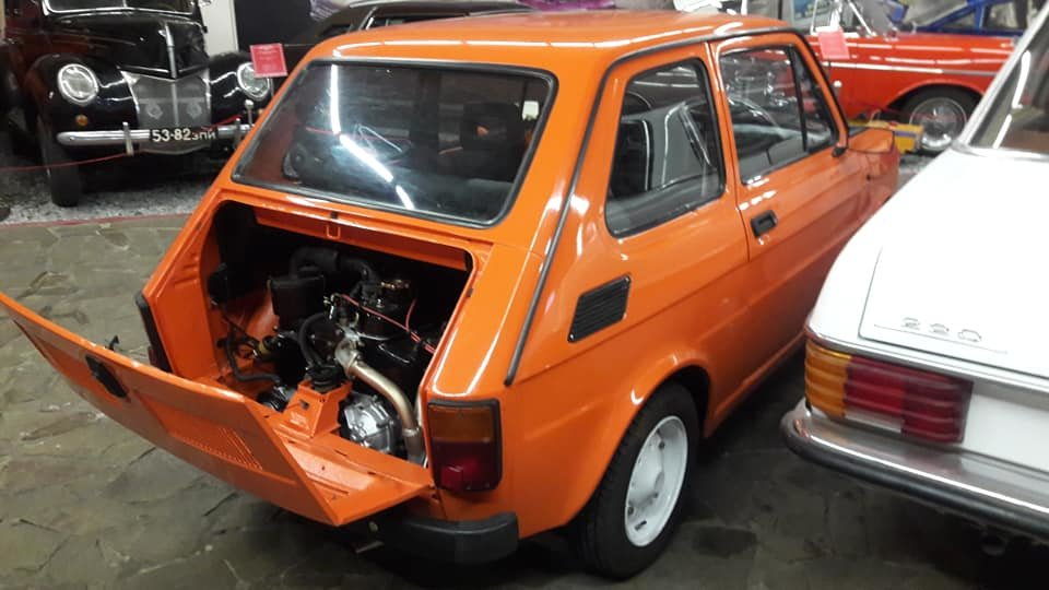 В музее «Фаэтон» появился новый экспонат – итальянская малолитражка Fiat, – ФОТО, фото-4