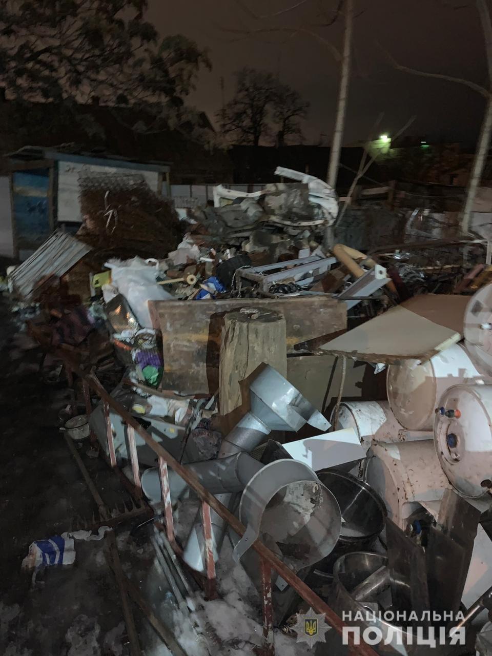 Запорожские полицейские в незаконных пунктах приема изъяли более 30 тонн металлолома, – ФОТО, фото-3