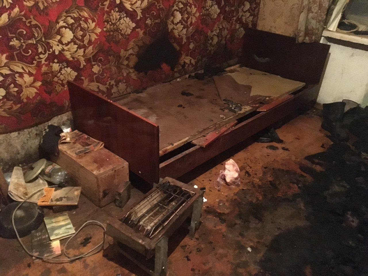 В Запорожской области электрообогреватель стал причиной смертельного пожара, – ФОТО, фото-1