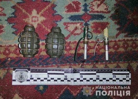 В квартире у жительницы Запорожья обнаружили две гранаты Ф-1, – ФОТО, фото-1