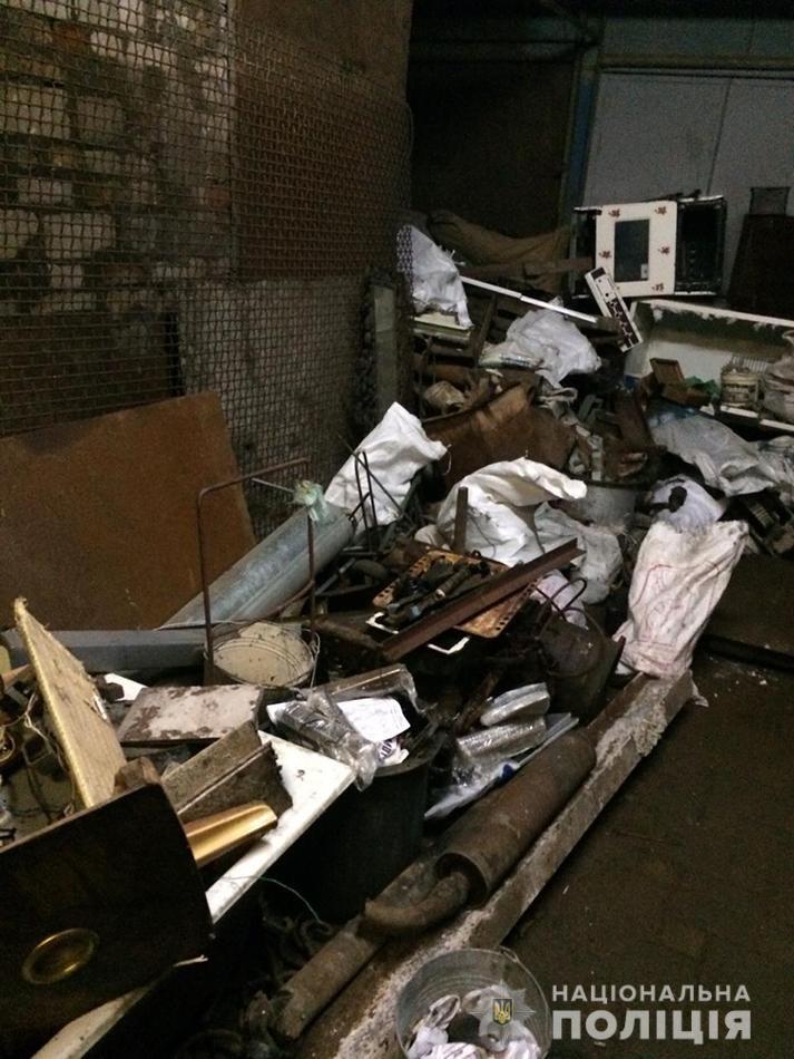 В Запорожье полицейские в ходе рейда изъяли 17 тонн металлолома, фото-2