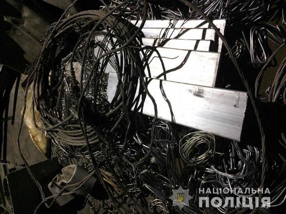 В Запорожье полицейские в ходе рейда изъяли 17 тонн металлолома, фото-3