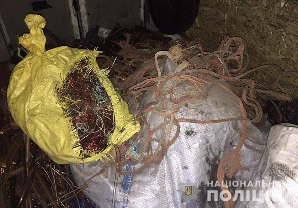 В Запорожской области на блокпосту остановили грузовик: внутри было больше тонны порезанных кабелей, фото-2