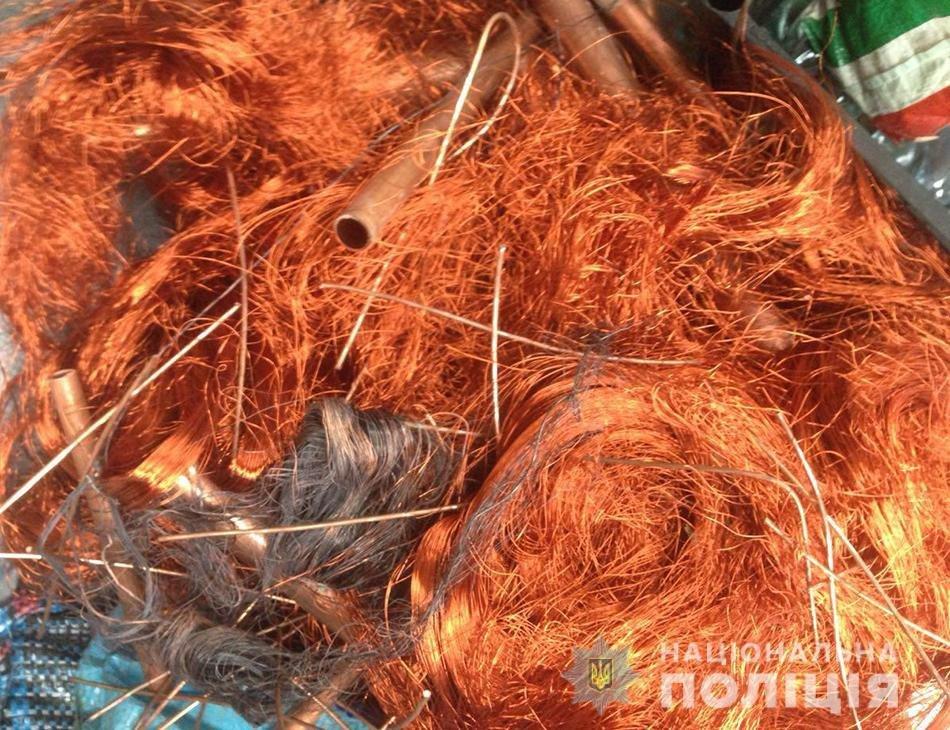 В Запорожской области на блокпосту остановили грузовик: внутри было больше тонны порезанных кабелей, фото-5