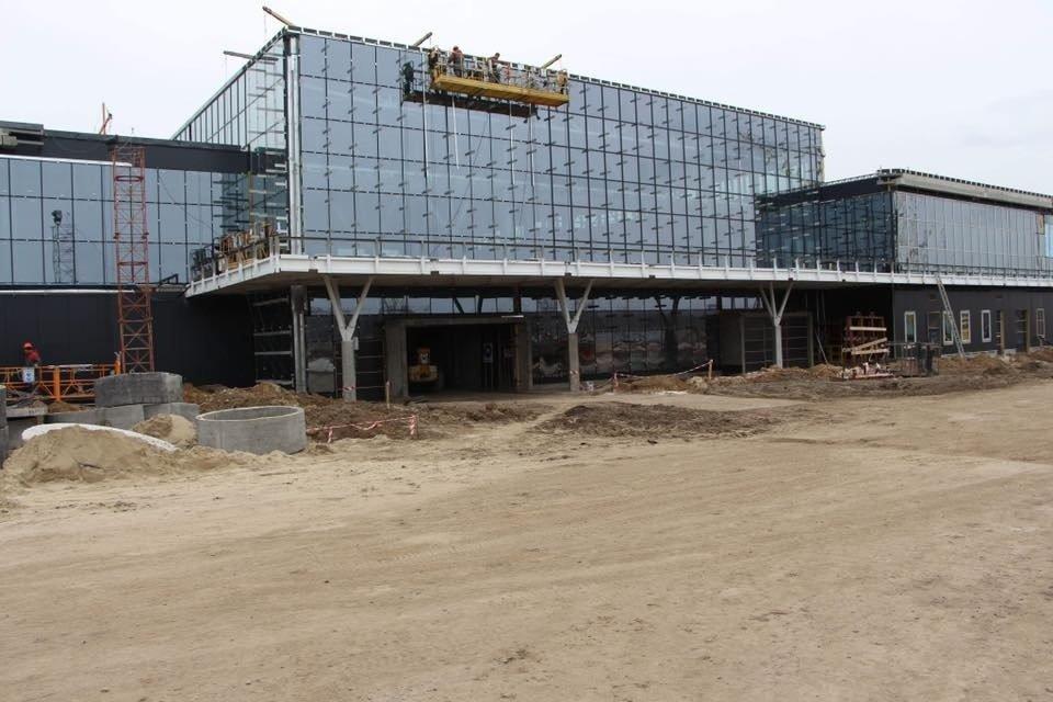 В Запорожье почти закончили строительство нового терминала аэропорта: на каком этапе работы, – ФОТОРЕПОРТАЖ, фото-2