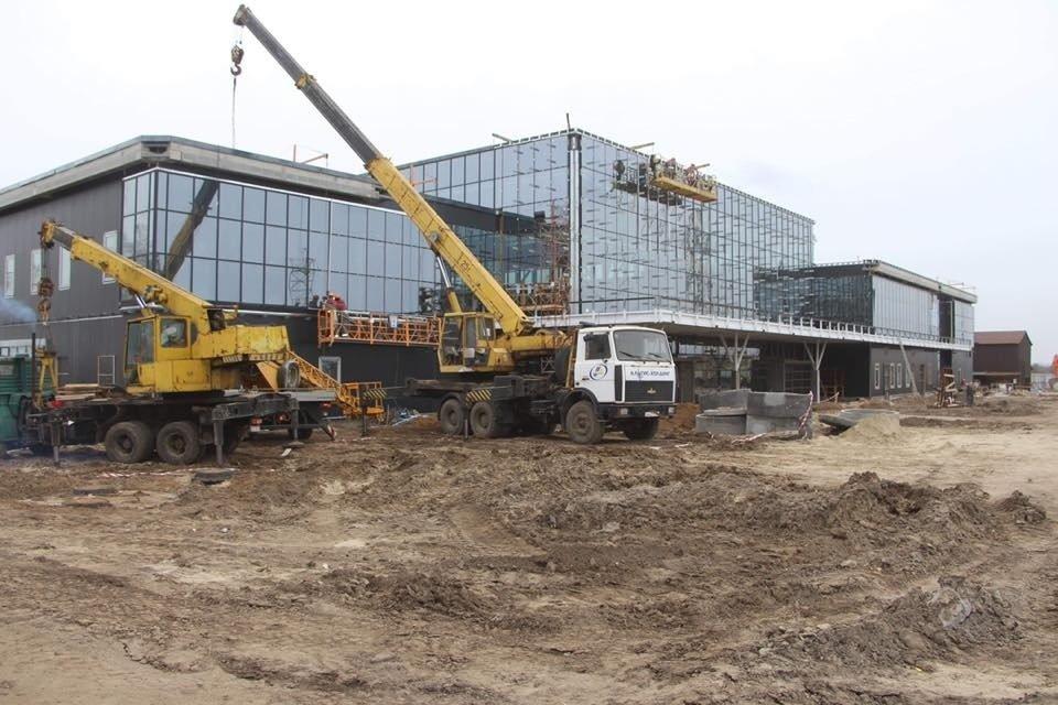 В Запорожье почти закончили строительство нового терминала аэропорта: на каком этапе работы, – ФОТОРЕПОРТАЖ, фото-1
