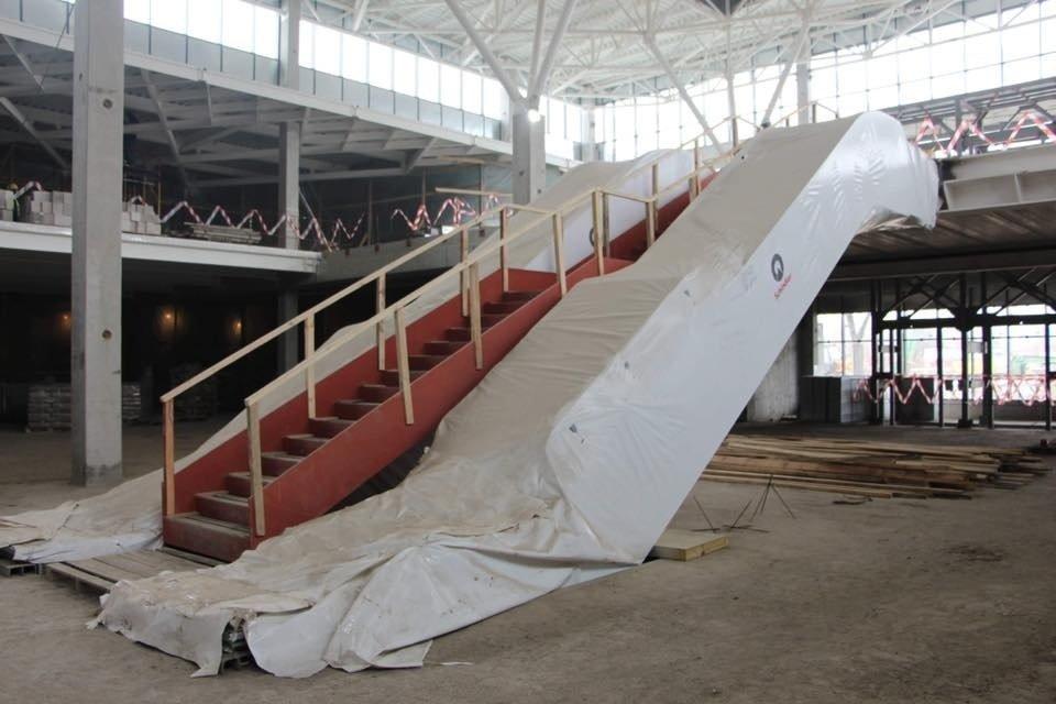 В Запорожье почти закончили строительство нового терминала аэропорта: на каком этапе работы, – ФОТОРЕПОРТАЖ, фото-6