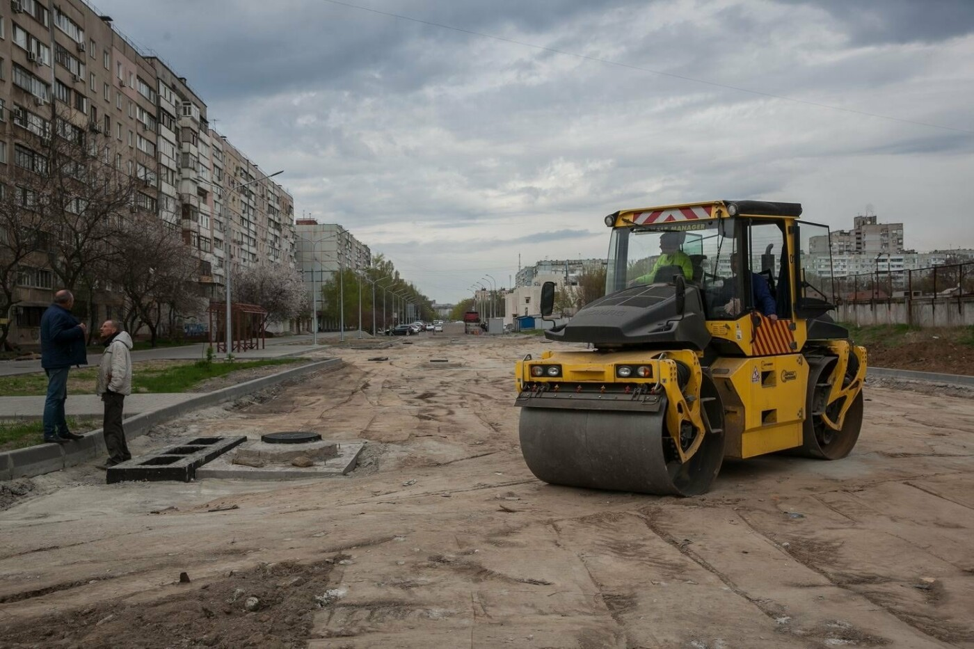 В Запорожье продолжается реконструкция улицы Школьной: что уже сделано, – ФОТОРЕПОРТАЖ, фото-2