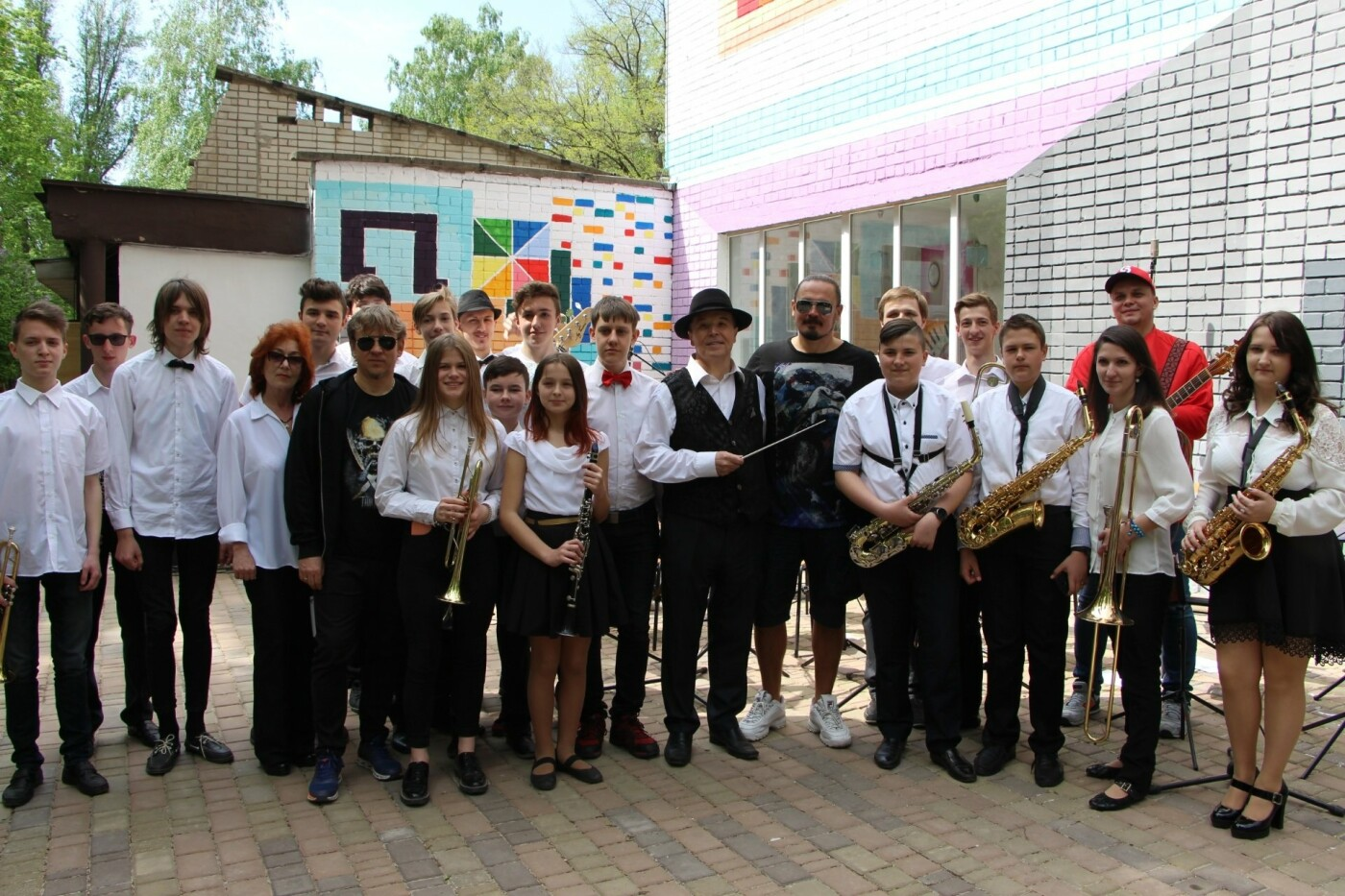 Группа «Танок на майдані Конго» записала клип с запорожскими детьми-музыкантами, – ФОТО, фото-8