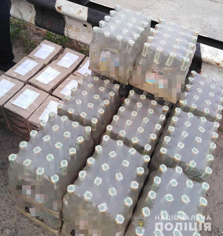 Нарушитель пытался завезти в Энергодар алкоголь без акциза и документов, – ФОТО  , фото-1