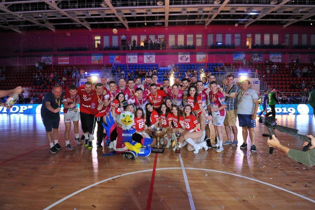 Запорожский «Мотор» в шестой раз стал обладателем Кубка Украины по гандболу, фото-1