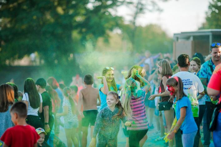 """В Запорожье на День молодежи провели фестиваль красок """"Холли"""", фото-3"""