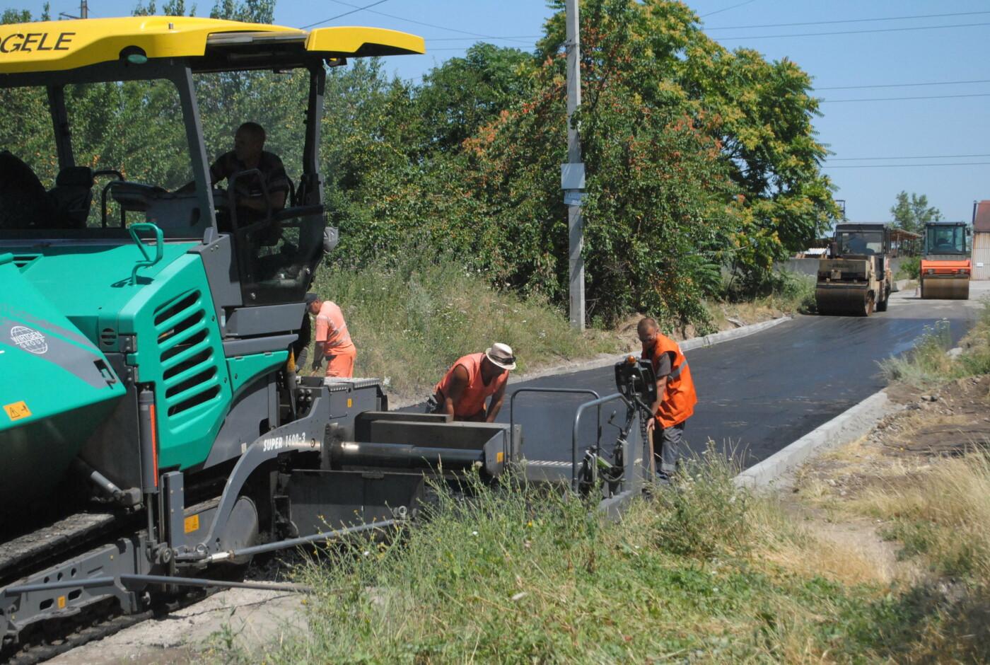 Ремонт дорог частного сектора в Запорожье начали с Днепровского района, фото-4