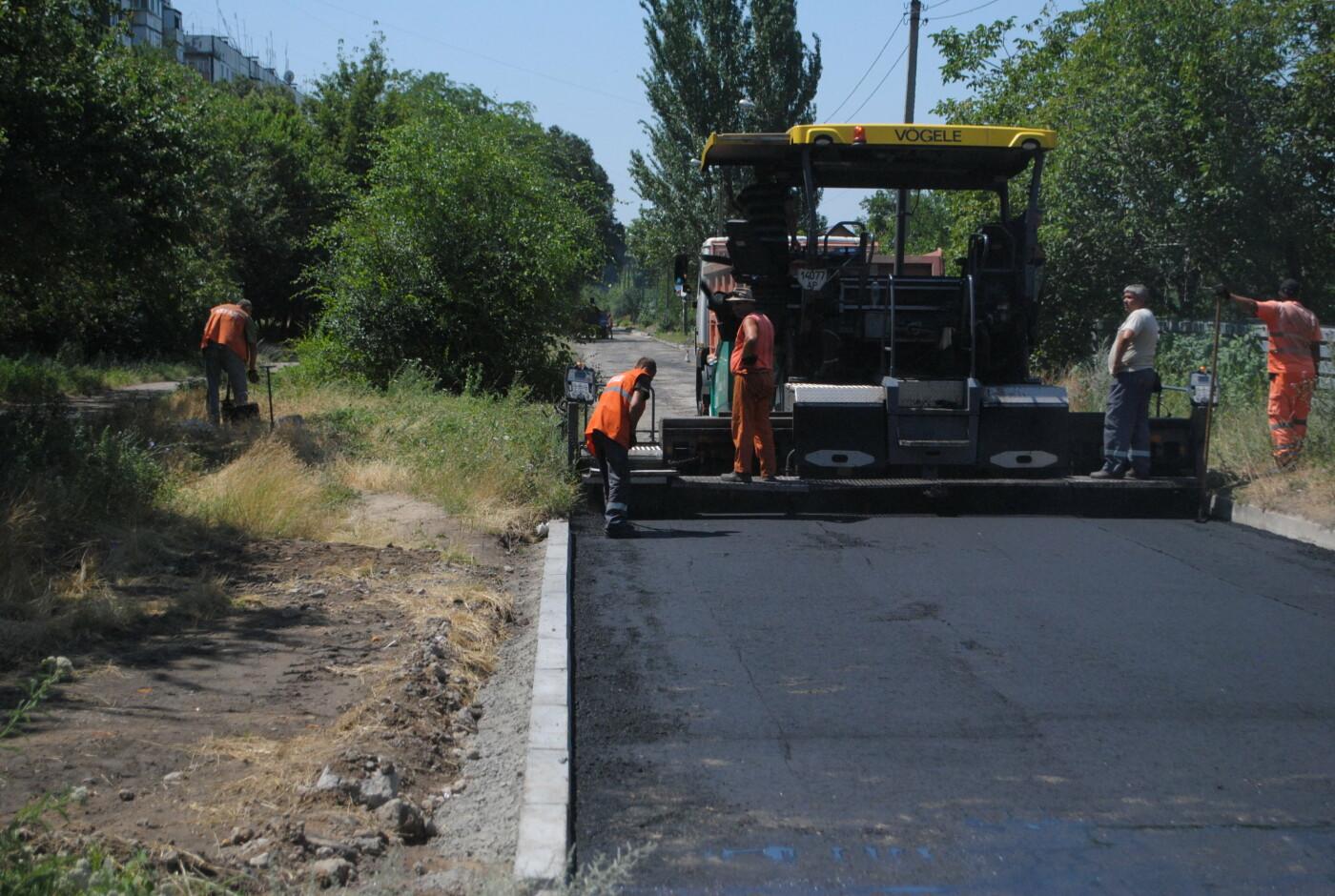 Ремонт дорог частного сектора в Запорожье начали с Днепровского района, фото-7