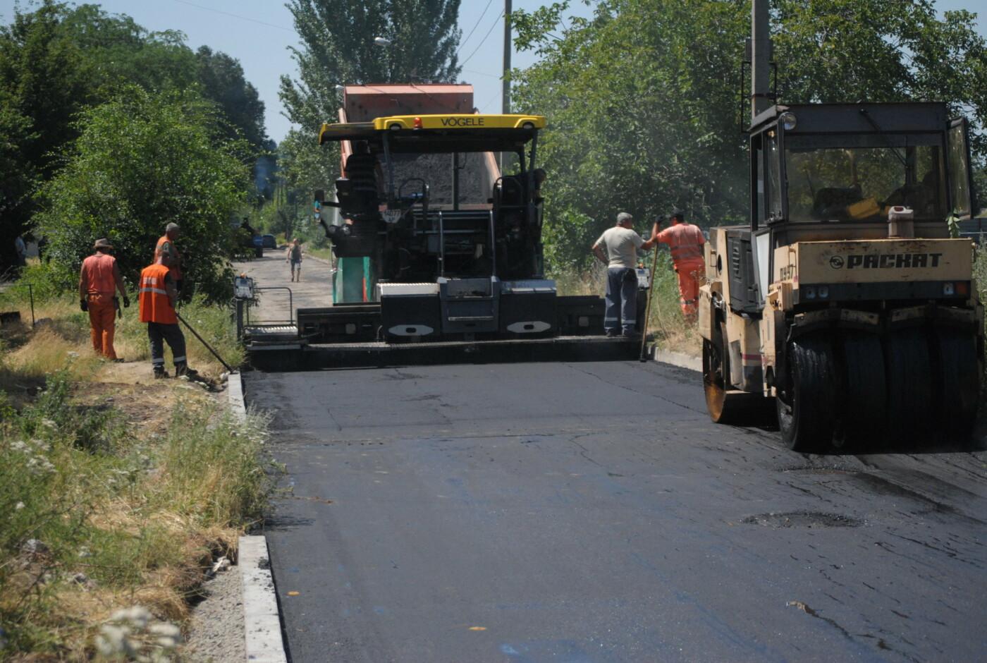 Ремонт дорог частного сектора в Запорожье начали с Днепровского района, фото-8