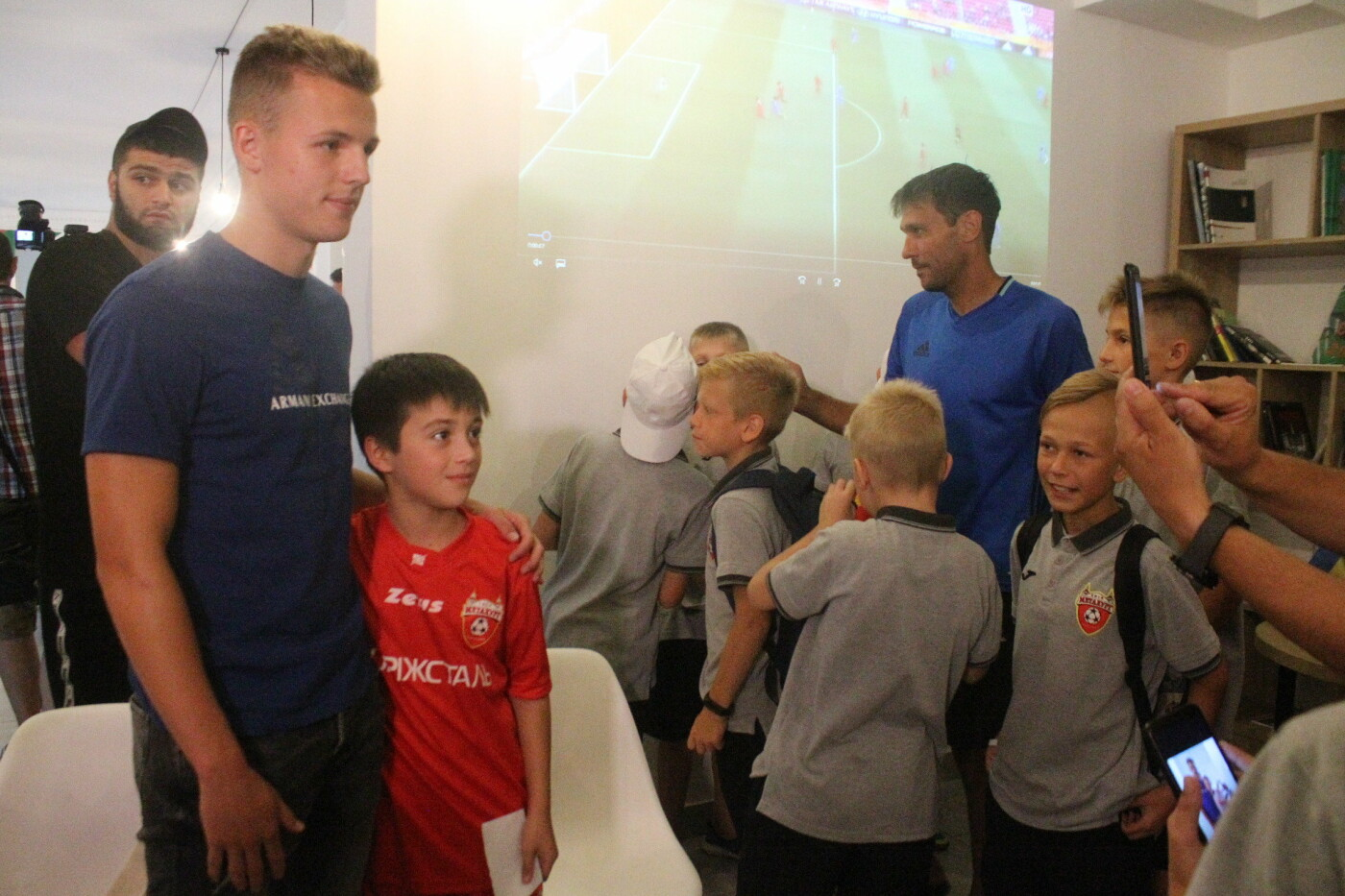 В туристическом центре прошла встреча с чемпионом мира по футболу, – ФОТО, фото-2