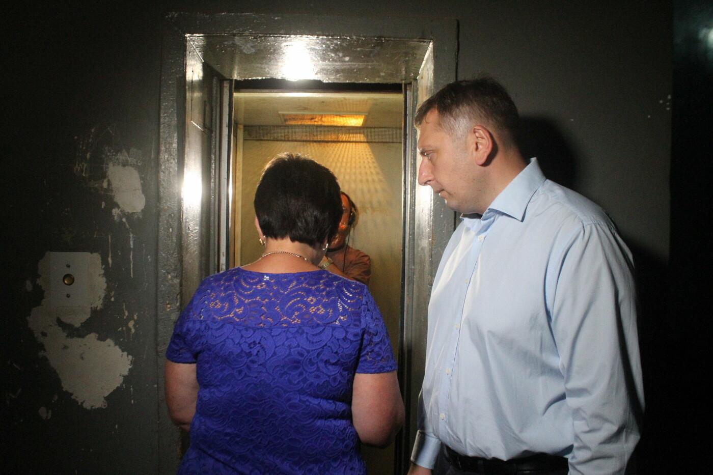 В запорожском общежитии после четырехлетней поломки заработали долгожданные лифты, фото-7