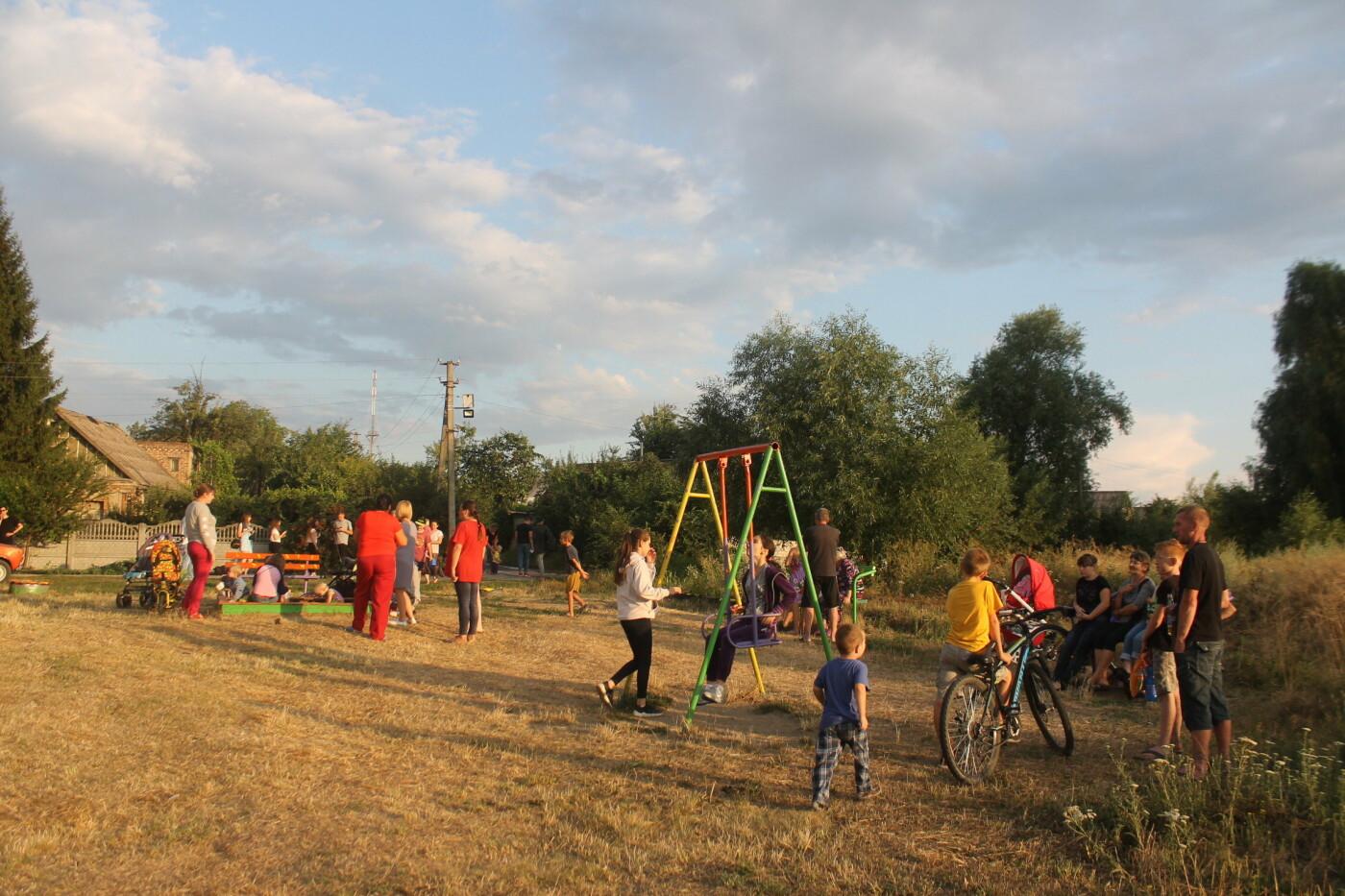Новое освещение и детская площадка: Игорь Чумаченко продолжает реализовывать программу развития частного сектора, фото-12
