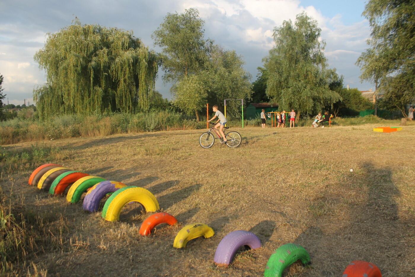 Новое освещение и детская площадка: Игорь Чумаченко продолжает реализовывать программу развития частного сектора, фото-13