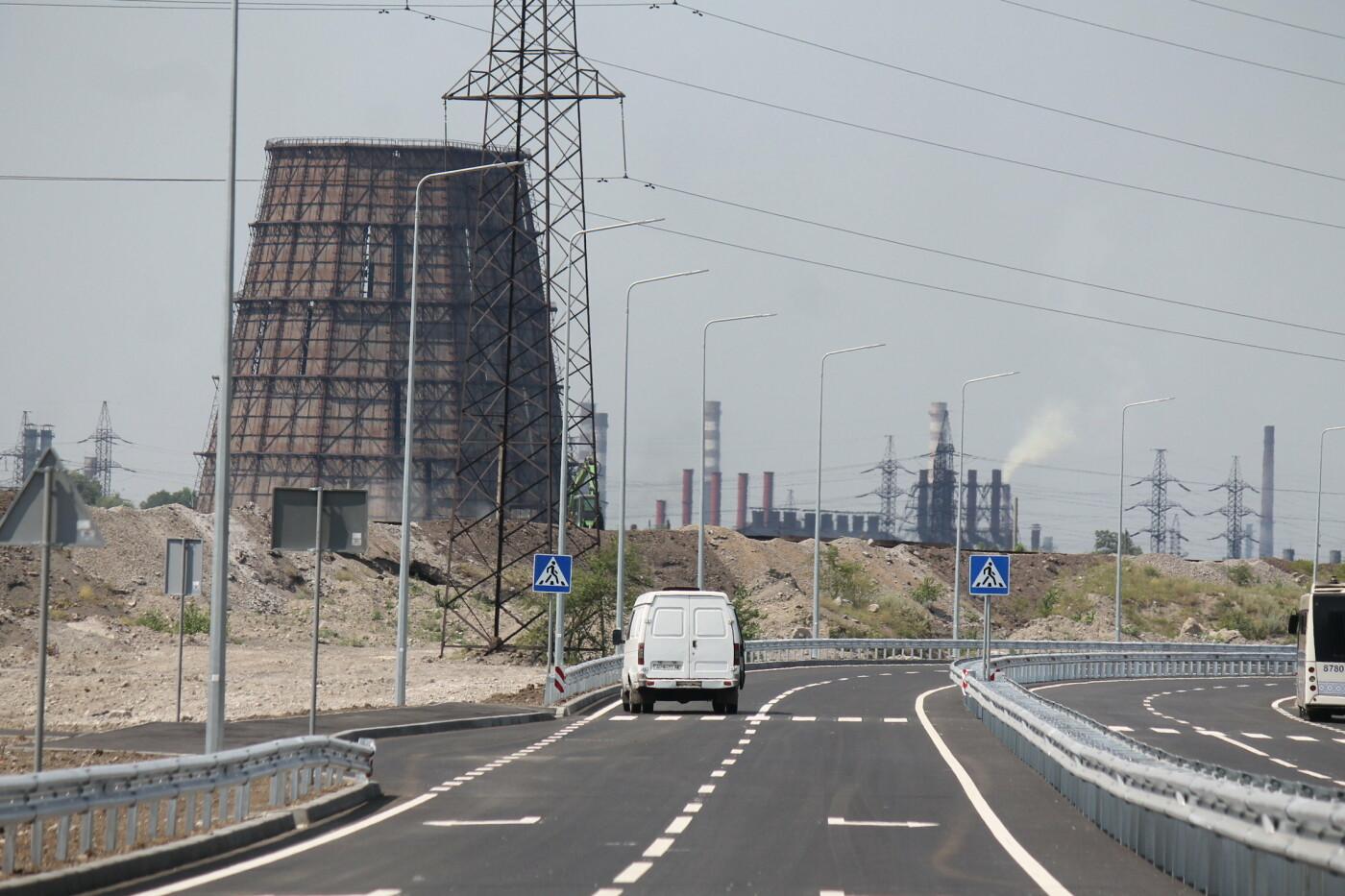 В Заводском районе Запорожья построили новую магистраль европейского качества, фото-13