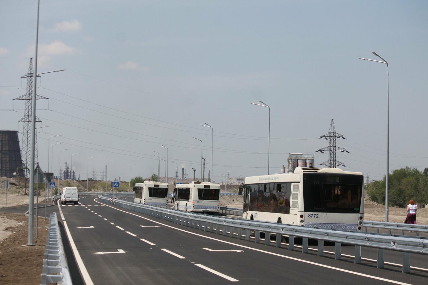 В Заводском районе Запорожья построили новую магистраль европейского качества, фото-12