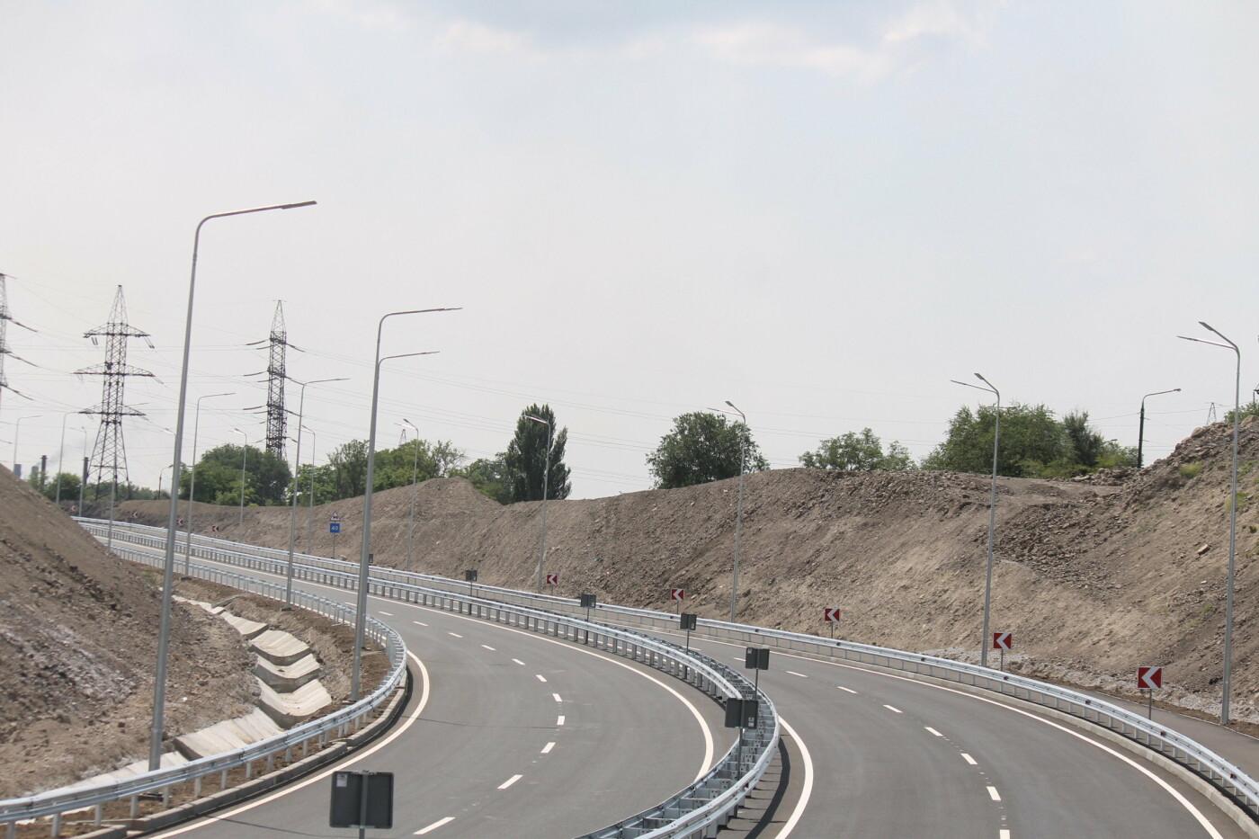 В Заводском районе Запорожья построили новую магистраль европейского качества, фото-9