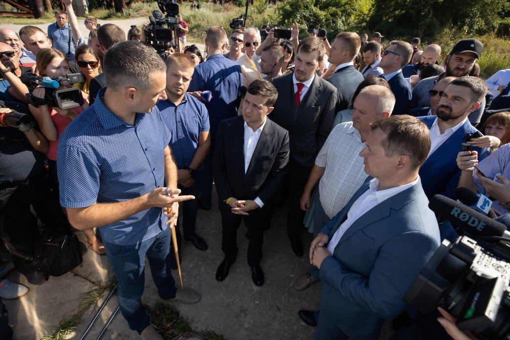 Визит Зеленского в Запорожье в фотографиях и высказываниях, фото-1