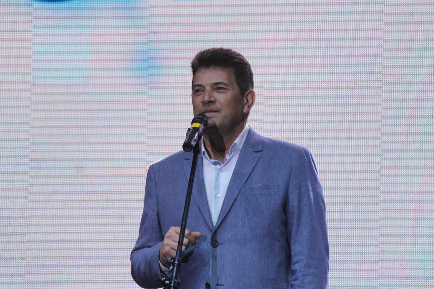 Мэр Владимир Буряк и его команда поздравили горожан с Днем металлурга, фото-1