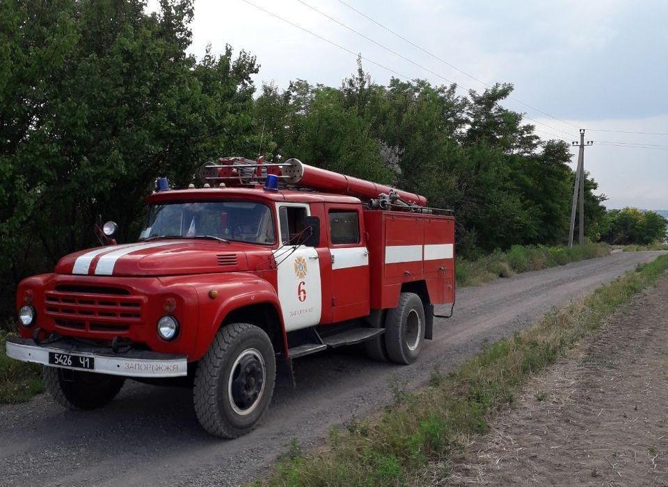 Под Запорожьем горело лесничество: пожар тушили 25 человек, – ФОТО, фото-2