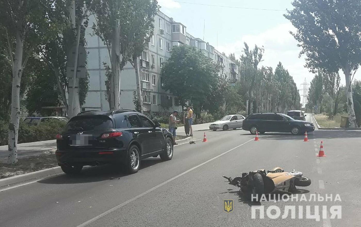 В Энергодаре водитель «Инфинити» поехал на красный и устроил смертельное ДТП, – ФОТО  , фото-2