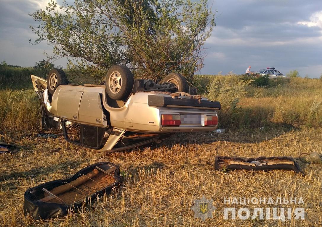 На запорожской трассе произошло смертельное ДТП: погиб водитель, пассажир – в больнице, – ФОТО, фото-1