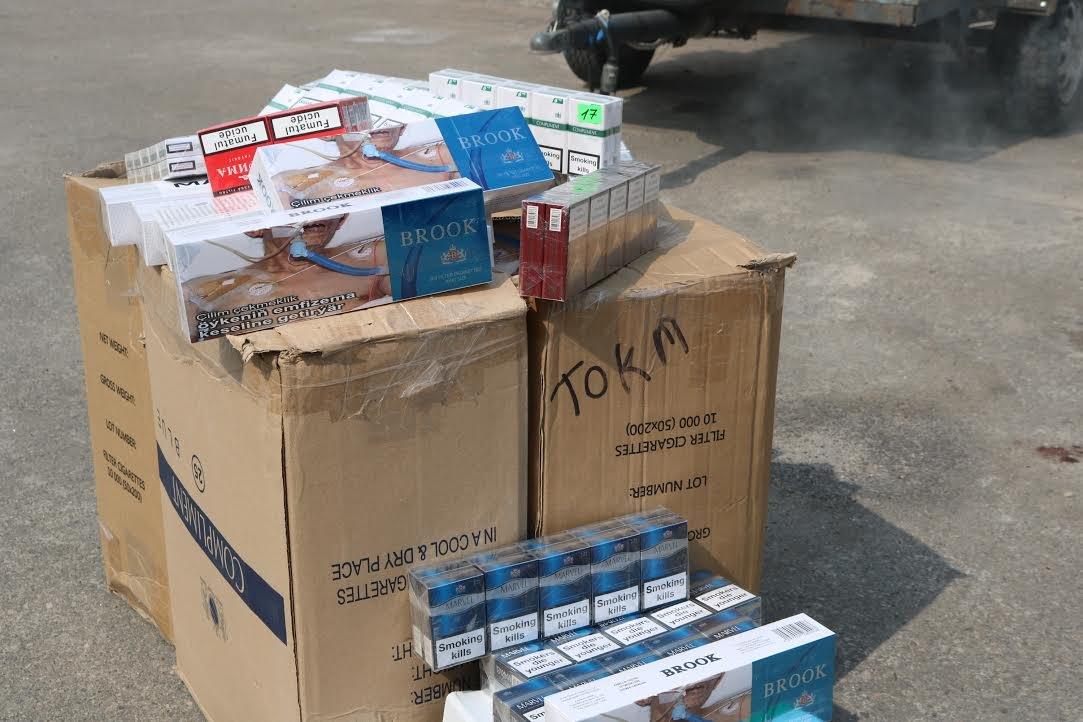 В Запорожье сожгли контрафактных сигарет на 100 тысяч гривен, - ФОТО, фото-4