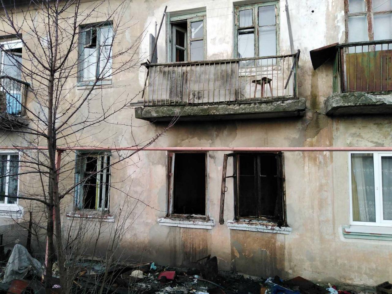 В Запорожской области сгорела квартира: кто-то неосторожно курил, - ФОТО
