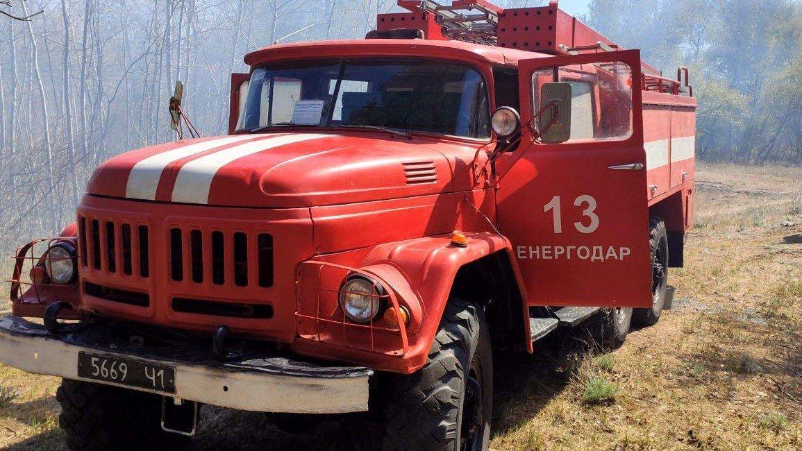 За сутки запорожские пожарные 10 раз выезжали тушить пожары в экосистемах, фото-2