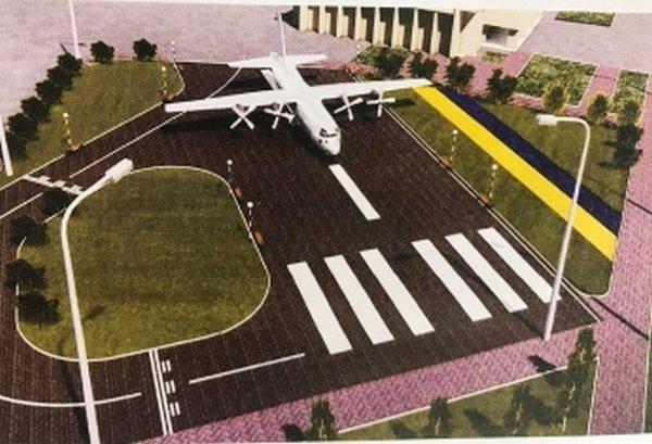 Самолет АН26Ш, который должен стать памятником в Мелитополе, разберут и доставят за 597 тысяч гривен, фото-1