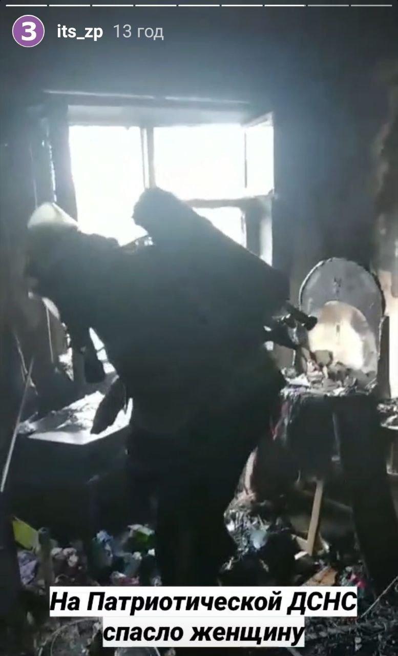 В Запорожье на Патриотической в многоэтажке загорелась квартира, - ФОТО, фото-1