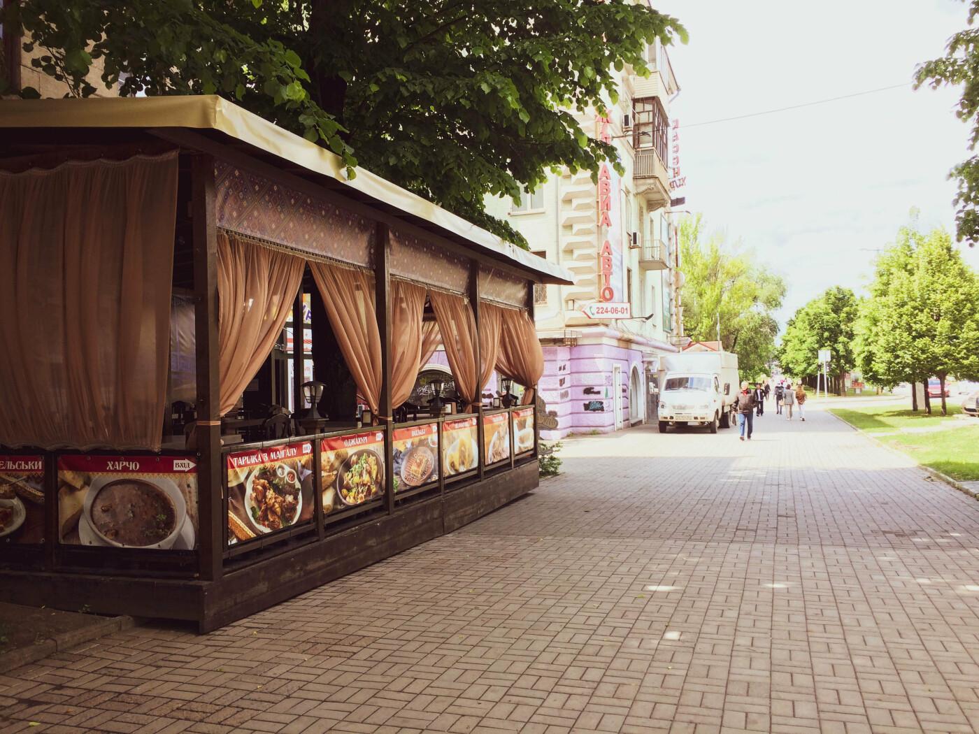 Заведения с летними террасами в Запорожье, фото-16