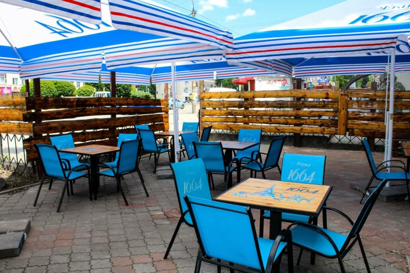 Заведения с летними террасами в Запорожье, фото-30