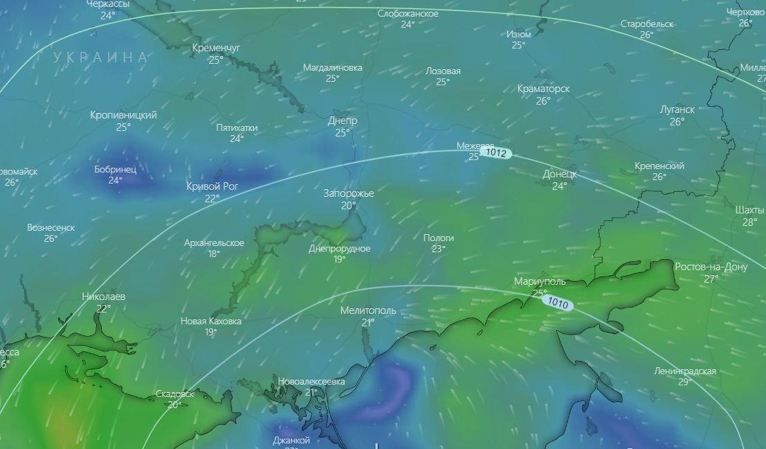 Погода в Запорожье сегодня: прогноз на 28 июля, фото-1