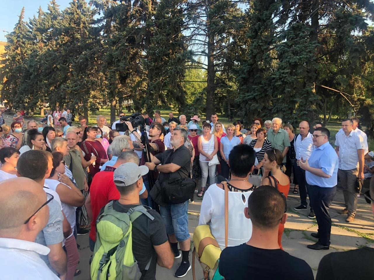 Жители Запорожья выдвинули на пост городского головы Виталия Рябцева, фото-1