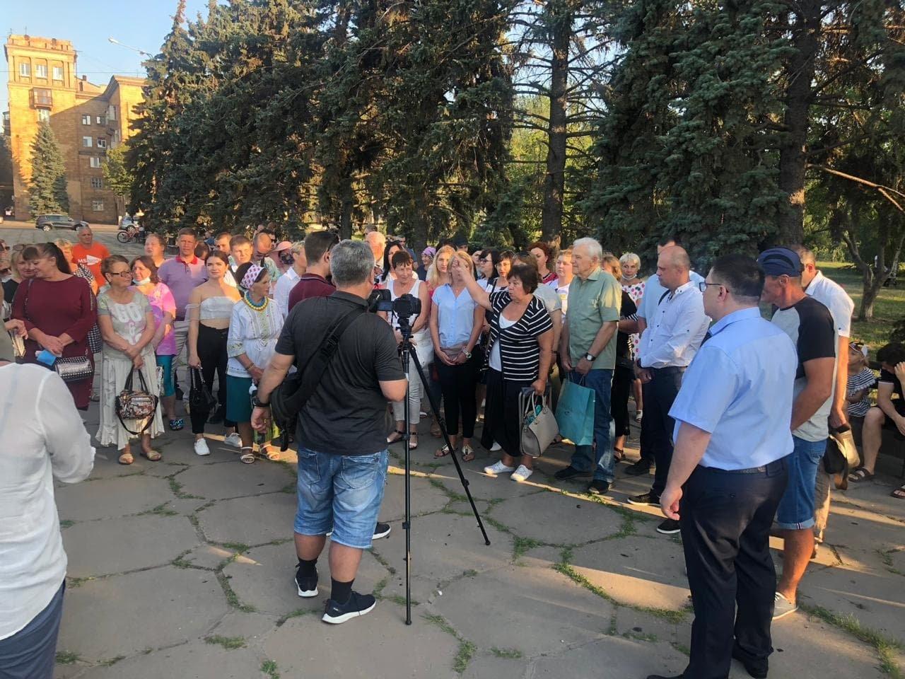 Жители Запорожья выдвинули на пост городского головы Виталия Рябцева, фото-2