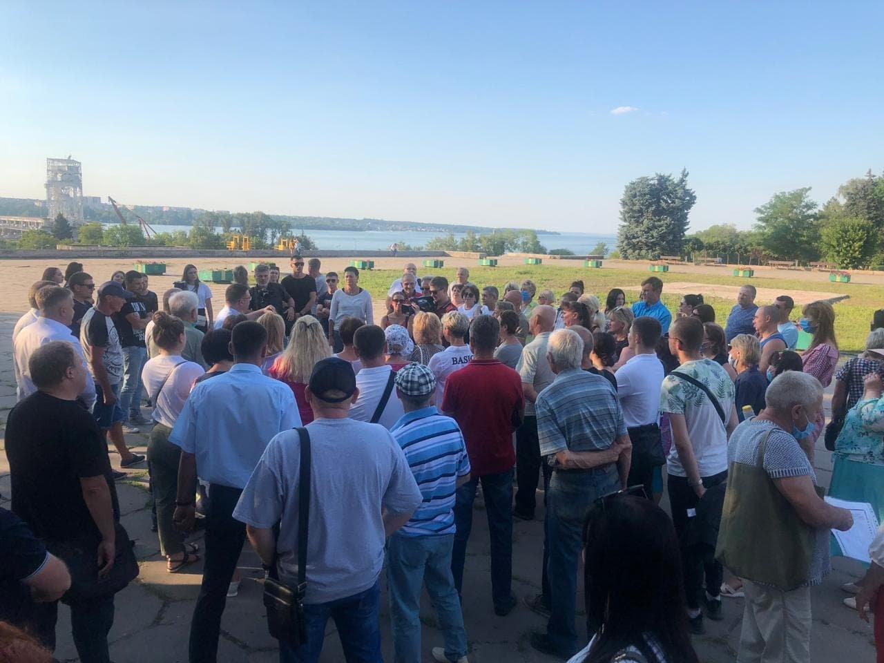 Жители Запорожья выдвинули на пост городского головы Виталия Рябцева, фото-3