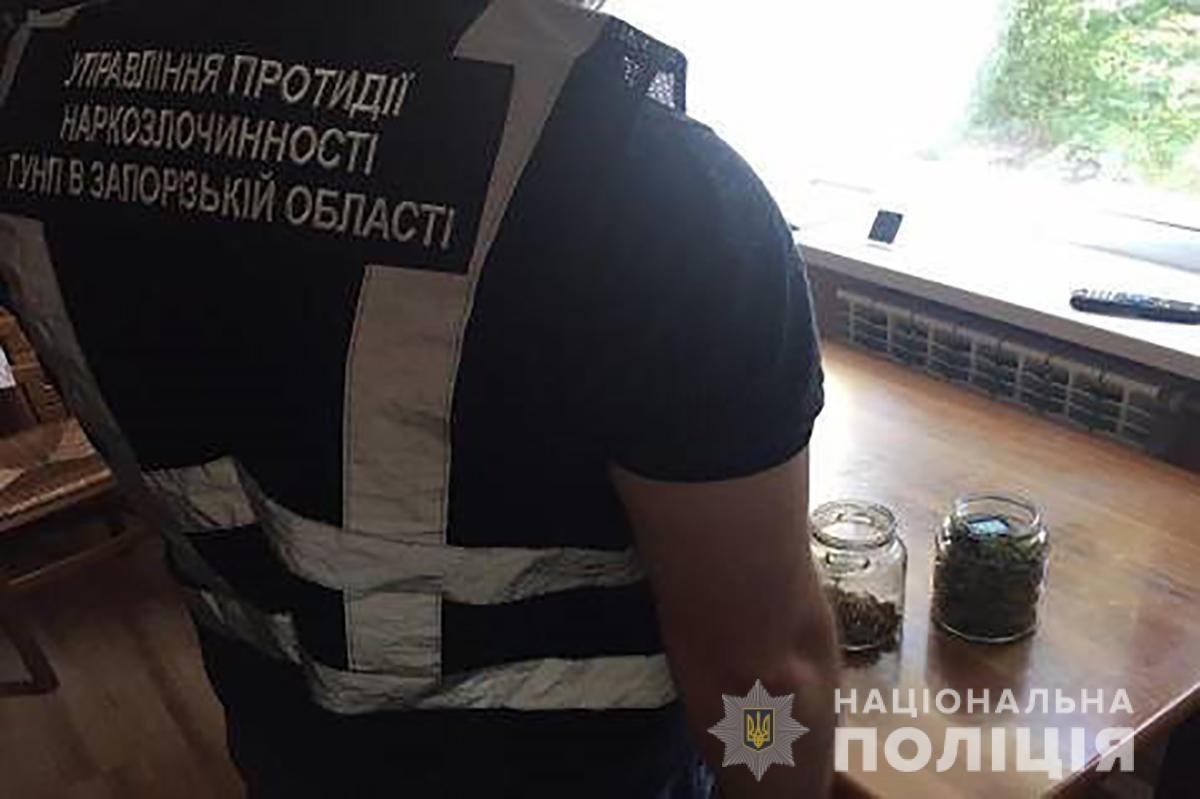 Запорожские полицейские с помощью дрона нашли два посева конопли, - ФОТО, фото-5