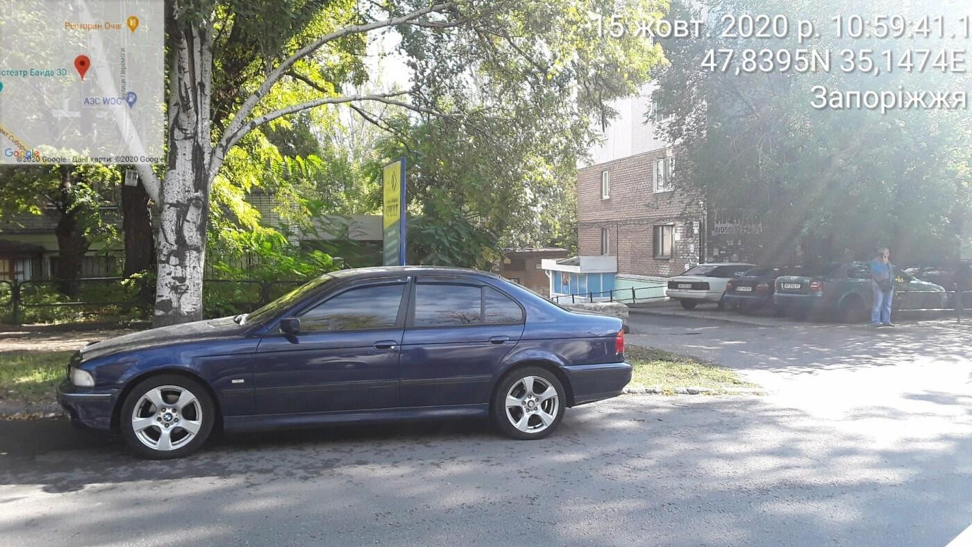 Запорожские инспекторы по парковке оштрафовали машины возле здания Нацполиции, - ФОТО, фото-2