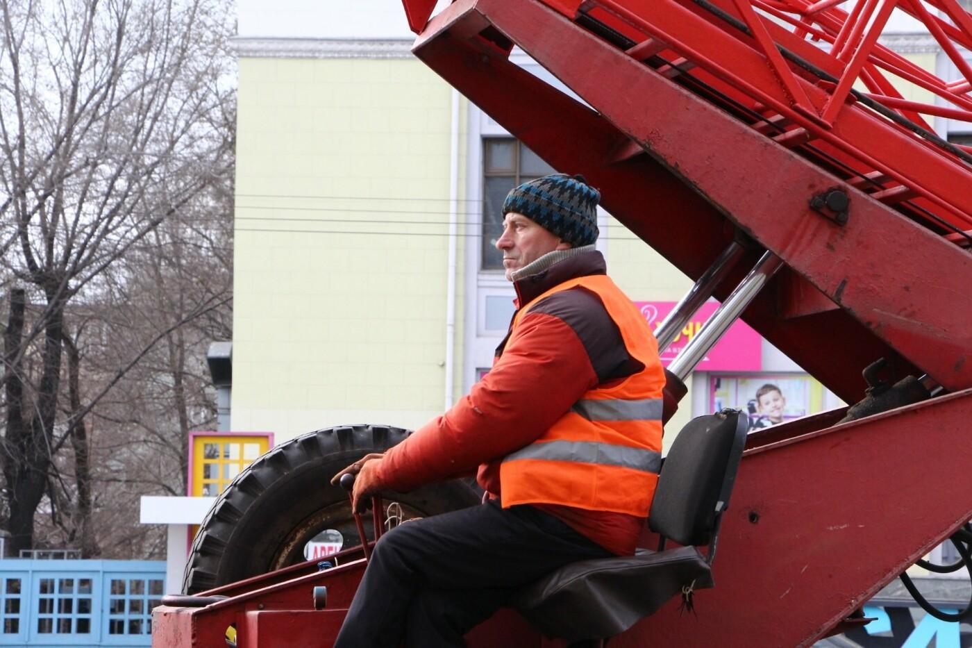 В Запорожье на главном проспекте меняют фонари на энергосберегающие, - ФОТО, фото-6