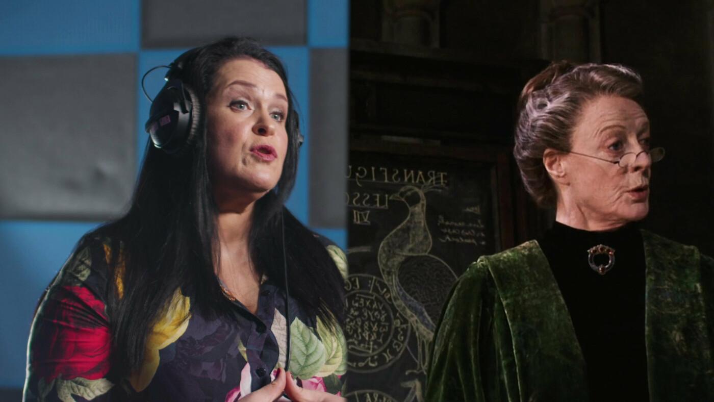 Руслана Писанка дублює професорку Макгонагалл у фільмі Гаррі Поттер